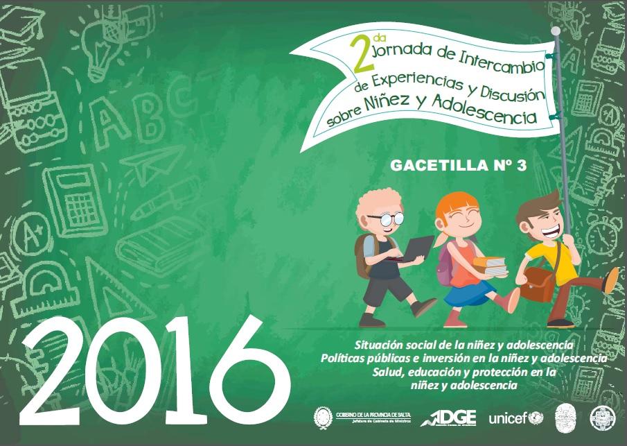 2 Jornada de Intercambio de Experiencias y Discusión sobre Niñez Adolescencia